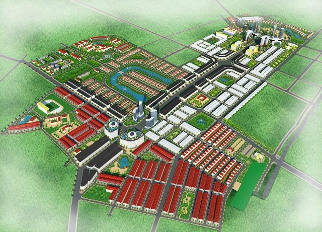Phối cảnh tổng thể dự án Từ Sơn Garden City
