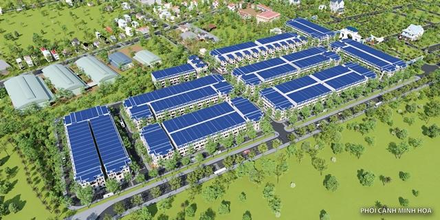Phối cảnh dự án đất nền Tiền Hải Center City