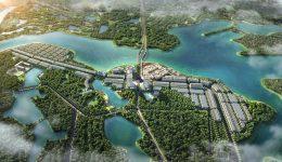 Phối cảnh dự án Bắc Đầm Vạc - River Bay Vĩnh Yên